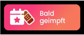 Sticker für Status 'Ich bin bald geimpft'